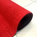 Polyester material mat rolls with pvc backing