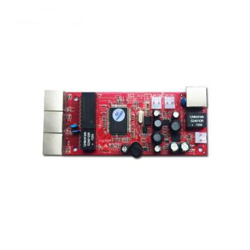 OEM/ODM 10/100/1000Mbps 4 Ports PCBA Ethernet Switch PCB /Network Switch module poe switch ethernet switch