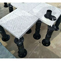 pedestal for raised outdoor floor support
