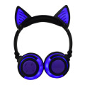 Glowing Cat Bluetooth Wireless Earphone Headphones Over Ear