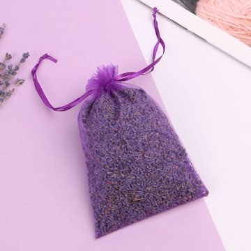 4 Sizes Natural Lavender Bud Dried Flower Sachet Bag Aromatherapy Aromatic Air Refresh Office Home Fragrance Sachets Bags