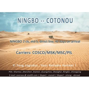 Ningbo Sea Freight to Cotonou