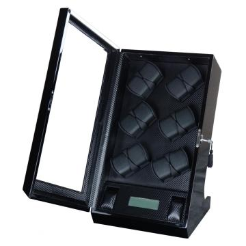 Black PU Leather Watch Winder