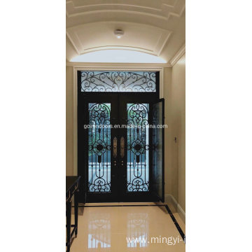 Iron Glass Door with Operable Window