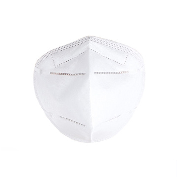 KN90 Respirator Nonwoven Anti Dust Mask, Disposable Masks Earloops Mask, Anti-PM2.5 Breathing Safety Masks
