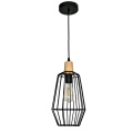 Farmhouse iron pendant light