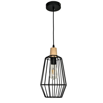 Designer Decorative Black  Single Pendant Light