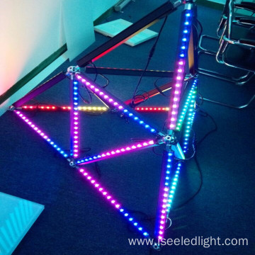 Hot sale DMX512 led cubes 3D geometry bar