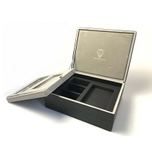 High-grade Leather Jewelry Gift Box