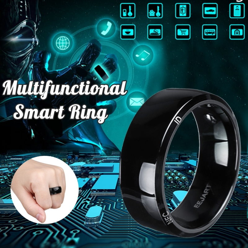 Waterproof Unlock Health Protection Smart Ring Wear New Technology Magic Finger NFC Ring For Android Windows NFC Cell Phone