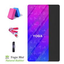 Suede Yoga Pose Exercise Mat Women Pilates Fitness Mats Indoor Gymnastics Dance Tapete With Yoga Bag Balance Pad 183*68cm*1.5mm