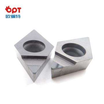 PCD insert woodworking PCD diamond cutter indexable insert