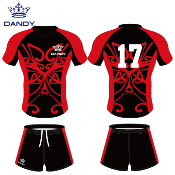 Custom youth rugby shirts