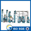 Small Capacity Corn Flour Processing Line