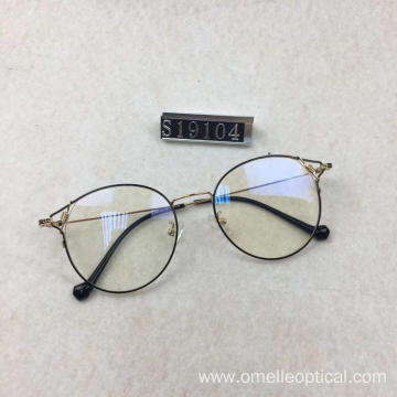 Women's Round Optical Glasses Lady Optical Frames