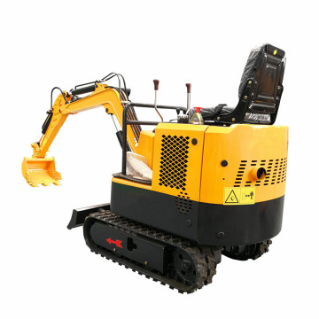 Mini excavator for garden final drive digger