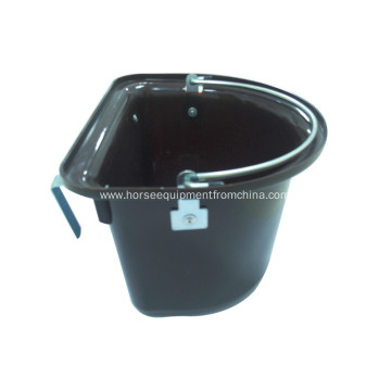 Portable Plastic Horse Feed Bucket