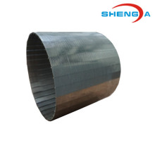 V-Shape Profile Wire Filtration Tube for Medicine Industry