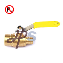 Lead free brass pex ball valve