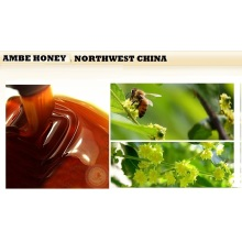 high quality amber buckwheat honey