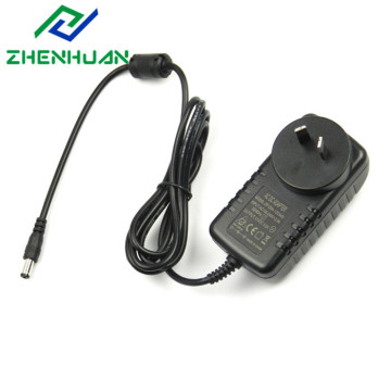 power line adapter 12V 1.5A input 100-240v 50/60hz