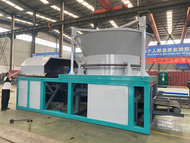 latest design industrial disc type sawdust machine