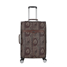 PU leather animal skin Pattern luggage