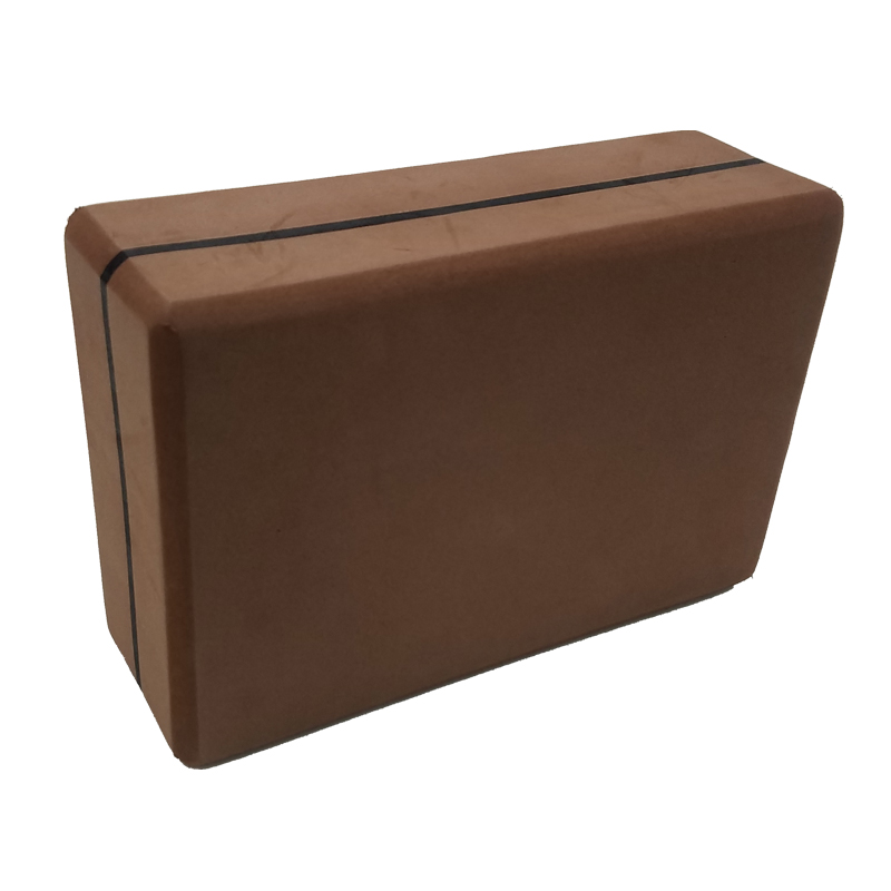 Camouflage Yoga Block Brown