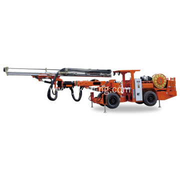 58KW Single-boom Underground Drilling Rig