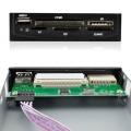 "3.5"" All in 1 USB Metal MS/XD/TF/CF/MD/SD/MMC Multi Memory Internal Card Reader"
