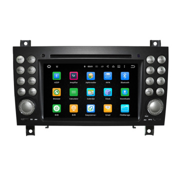 Sistema Android touch screen da 7 pollici per Benz