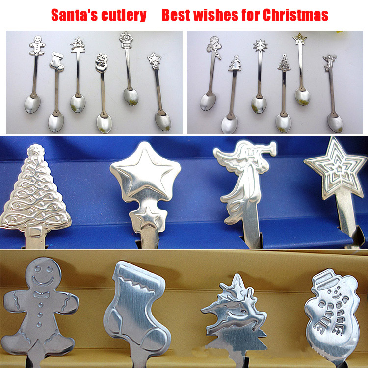 Christmas Spoon Set