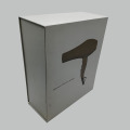 Hair Dryer Packaging Cardboard Book Shaped Box