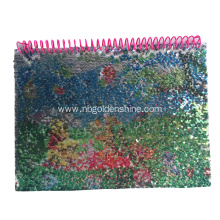 Rainbow Sequin Magic Notebook Journal