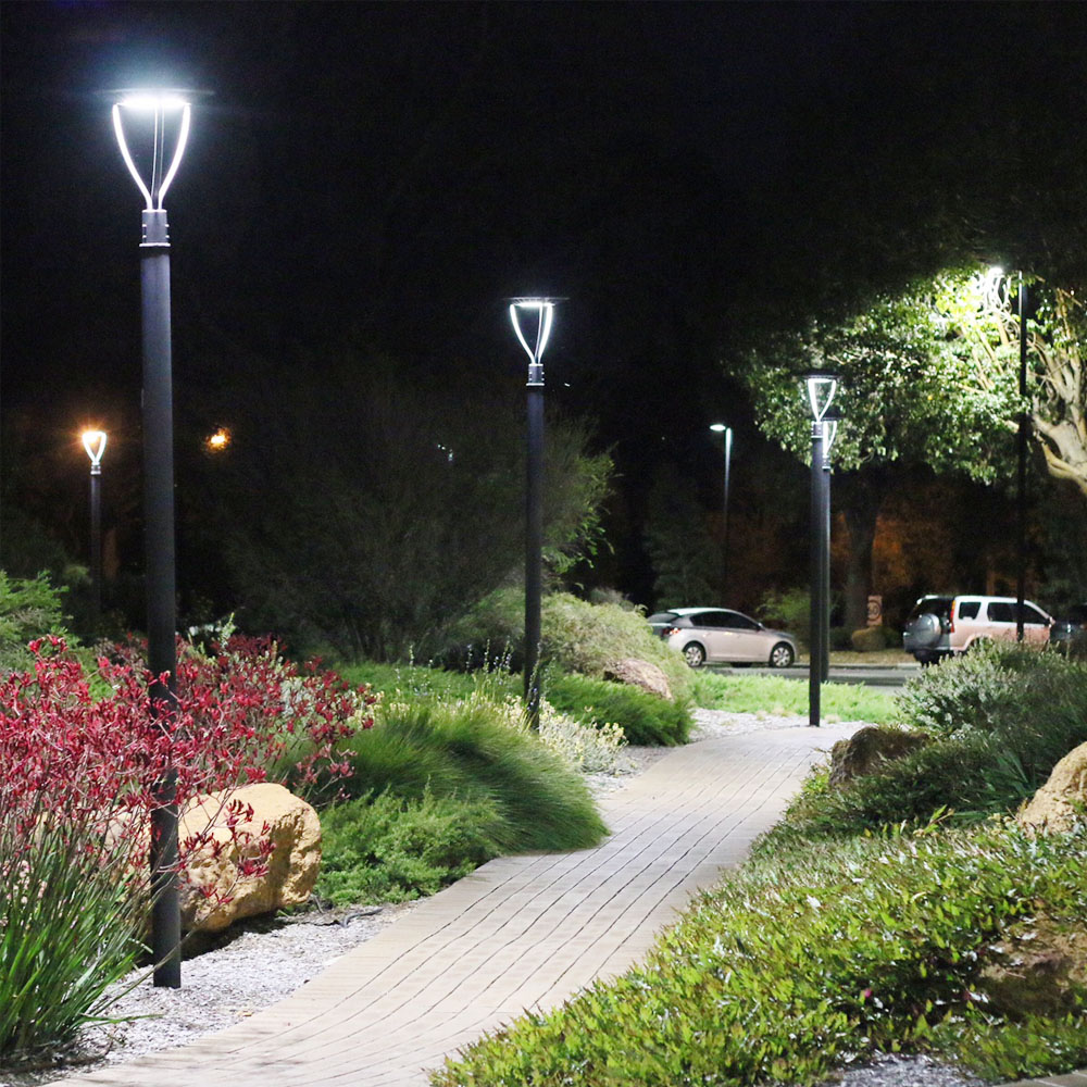 Solar Powered Post Top Lights (18)