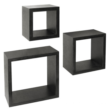 Floating Wall Square Cube Organizer Wooden Wall Shelf