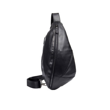 Custom Fashion Leather Men Single Chest Shoulder Bag