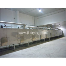 Flesh vegetable mesh belt dryer machine
