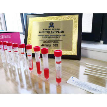 10ml Virus Sampling Flocked Swab Virus Collection Tube Kits