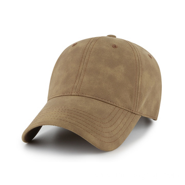 Outdoor Fake leather baseball hat