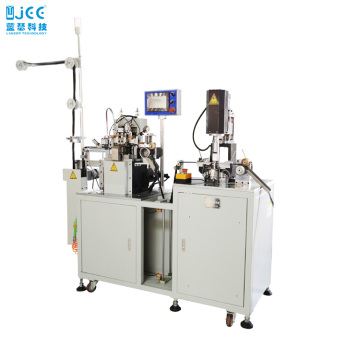 Automatic Nylon Zipper Gapping And Teeth Welding Machine