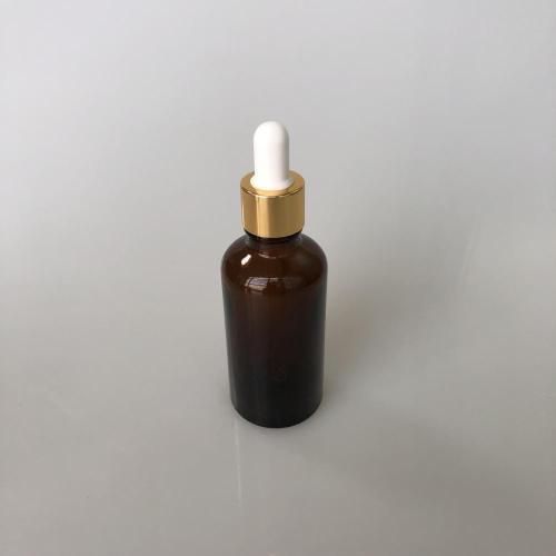 50ml amber column bottle with dropper