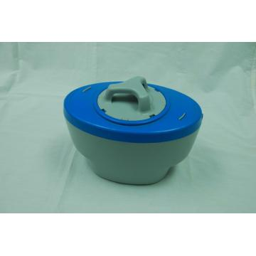 The plastic containers for swimming pool