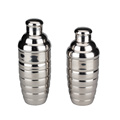 3-Piece Set Stainless Steel Cocktail Shaker Mirror Finish