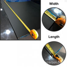 Hobbycarbon ngu-0.5mm 0,75cm ubukhulu be-carbon fiber sheet