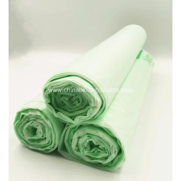 ASTM D6400 Certified Compostable  Plastic Garbage Bags