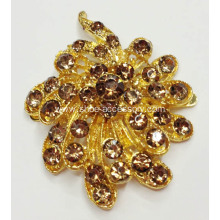 Unique Rhinestone Shoe Clips, Charming Flower Rhinestone Clips