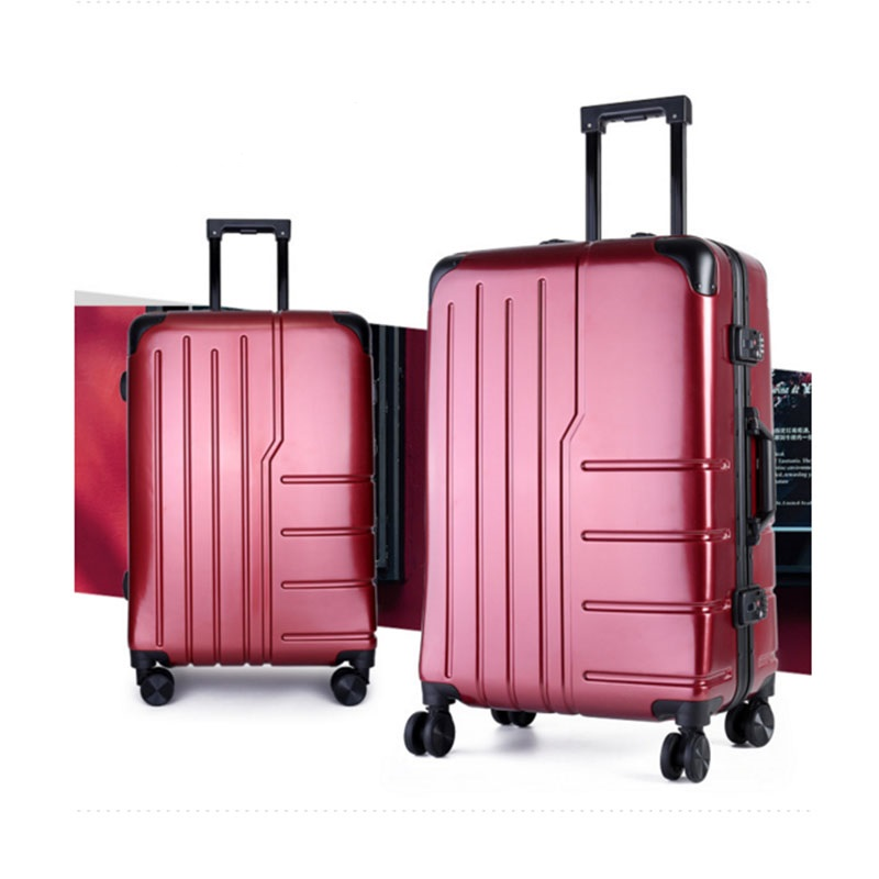 Red pc luggage