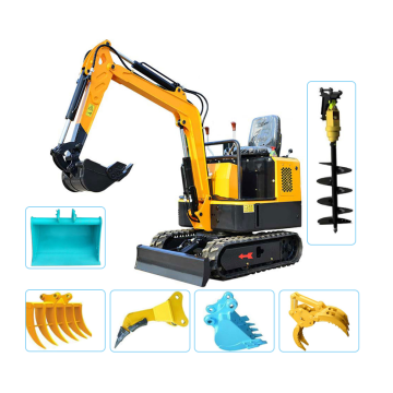 Cheap crawler garden mini digger excavator machine