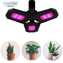 Grow Light Plant Growth Lamps Full Spectrum Light AC85V-265V 40W 60W 80W Phytolamp For Plants Professional Lighting Indoor Plant